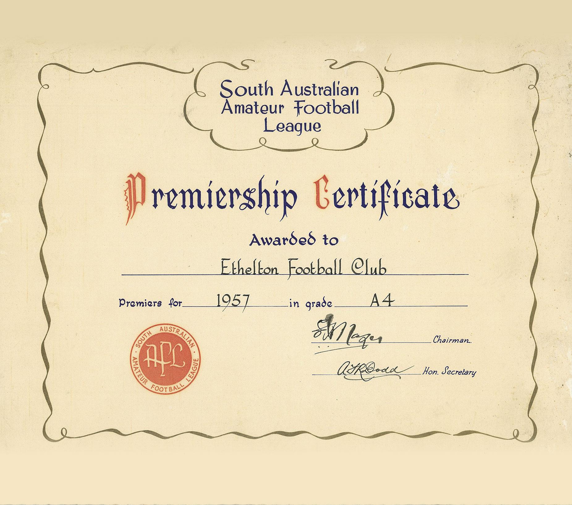 Ethelton Football Club