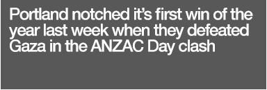 ANZAC Day Win